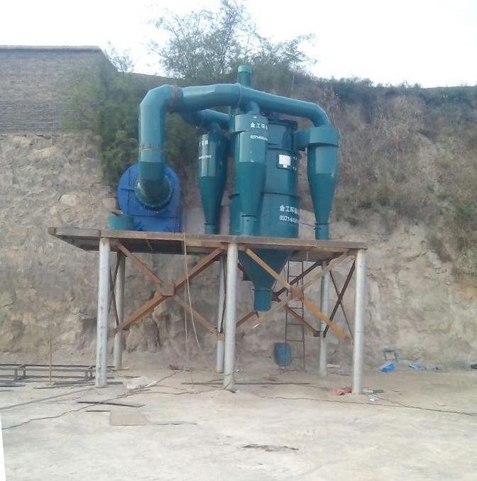 砂石选粉机设备的安装