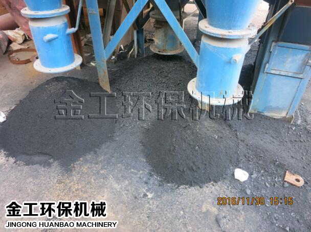 贵州客户煤粉选粉机试机案