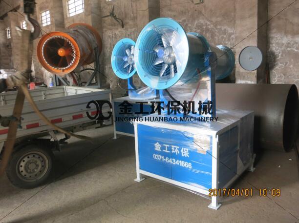 雾炮车旋转式雾化喷头与其它种类喷头的区别