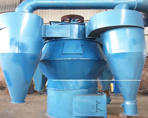 氢氧化钙选粉机生产线上的除尘设备